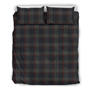 MK7 Retro Plaid Red & Black Duvet Set