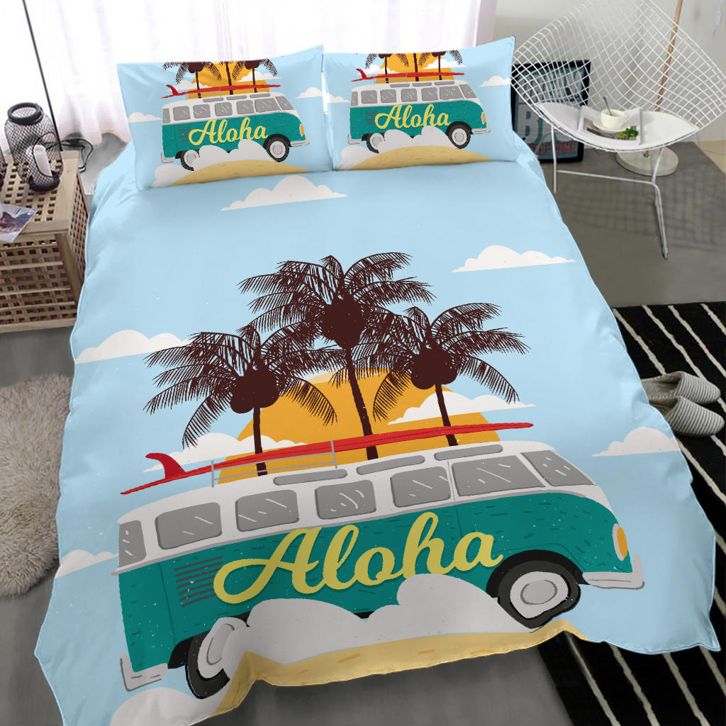 Aloha Bus Bedding Set