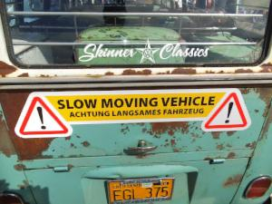 Slow Moving Vehicle Magnets