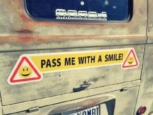 Pass Me With a Smile Magnet