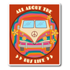 All About The Bus Life Sticker