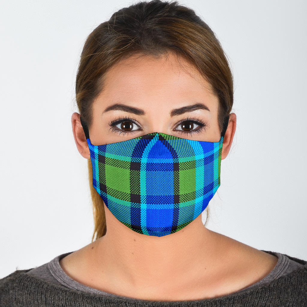 Blue Westy Face Mask