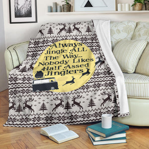 Jingle All The Way Blanket