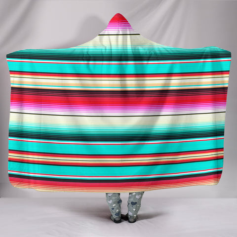 Image of Mexican Daydream Hooded Blanket