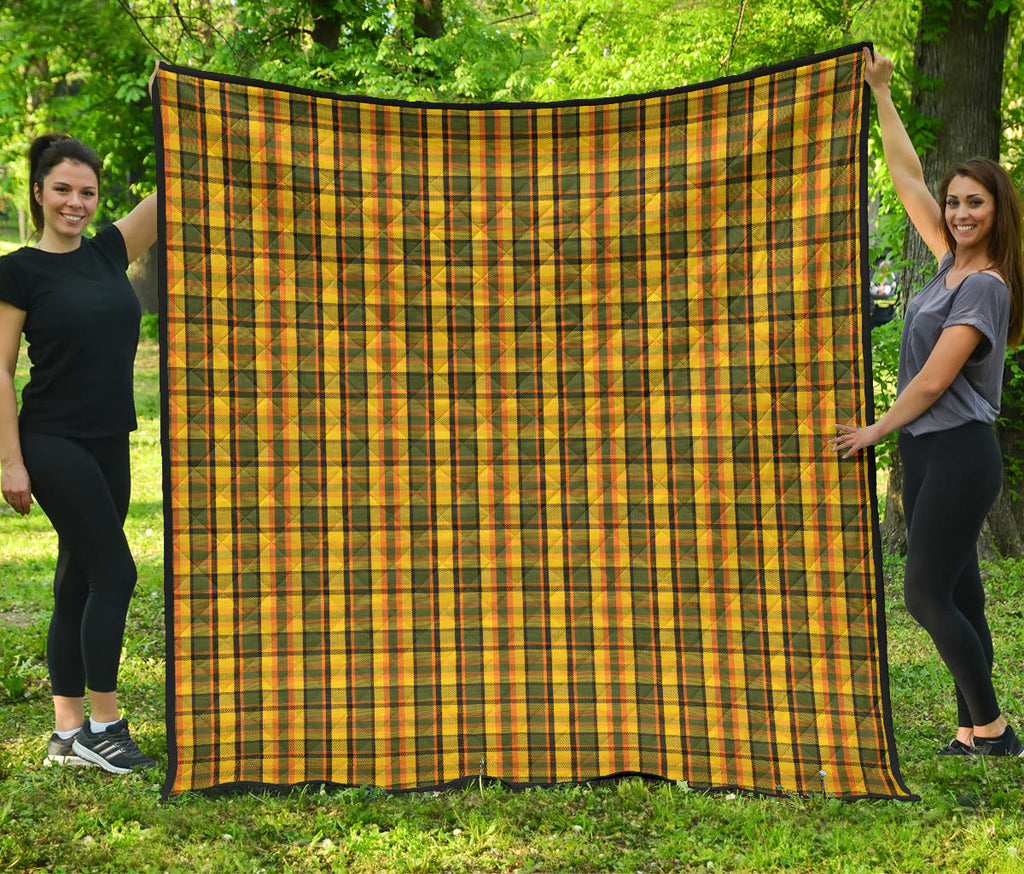 Yellow Westy Plaid Quilt