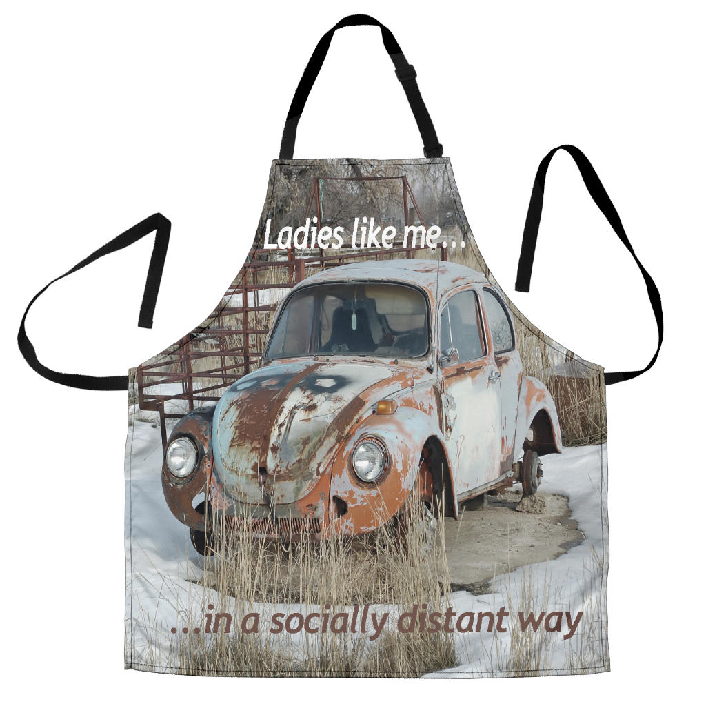 Socially Distant Apron 1