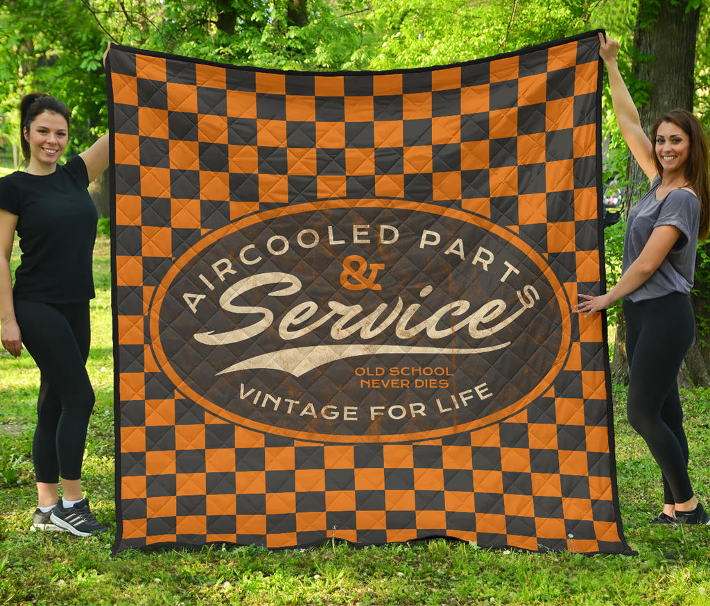 Aircooled Parts & Service Quilted Blanket