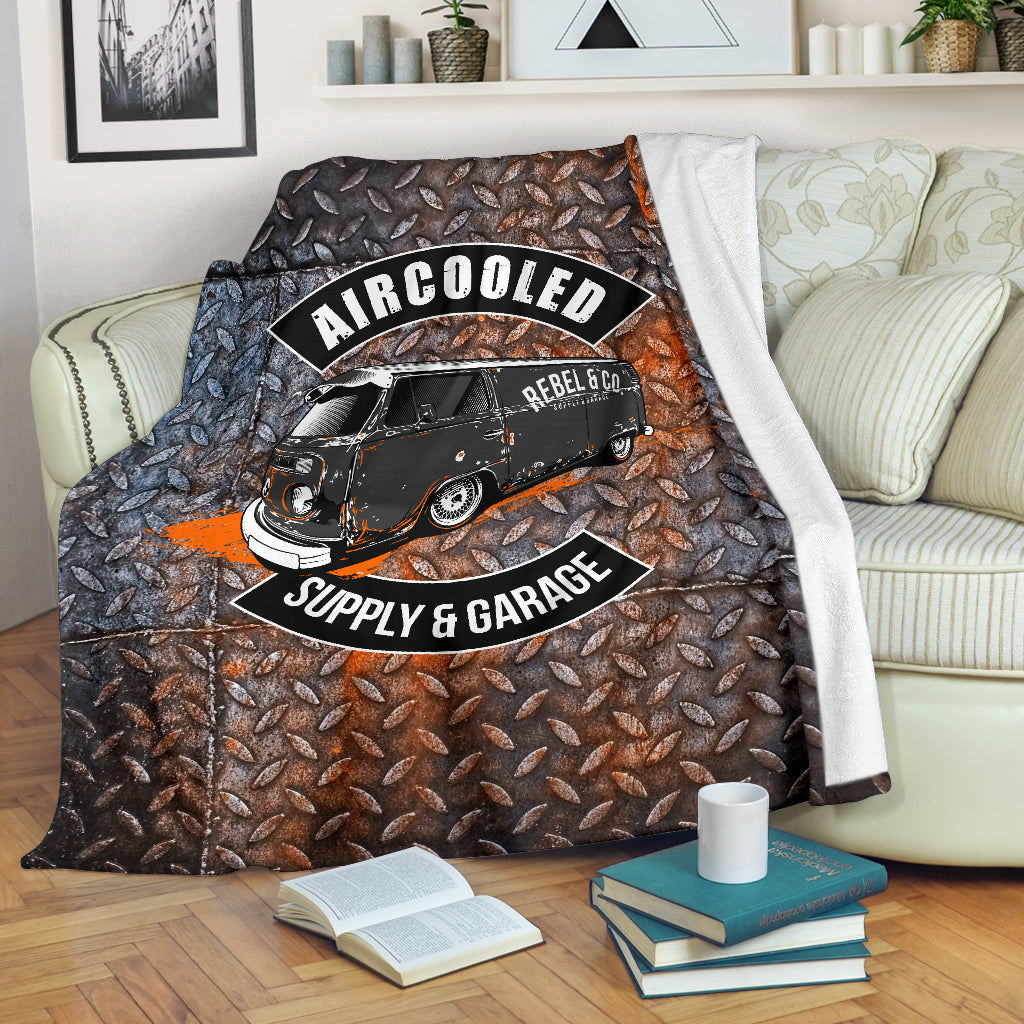 Aircooled Supply & Garage Fleece Blanket