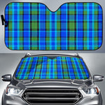 Westy Blue Plaid Sun Shade