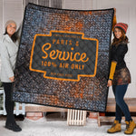 Parts & Service Rusty Grate Quilt