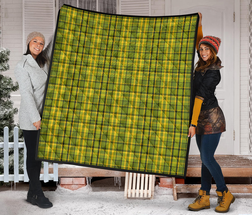 Westy Green Plaid Quilt