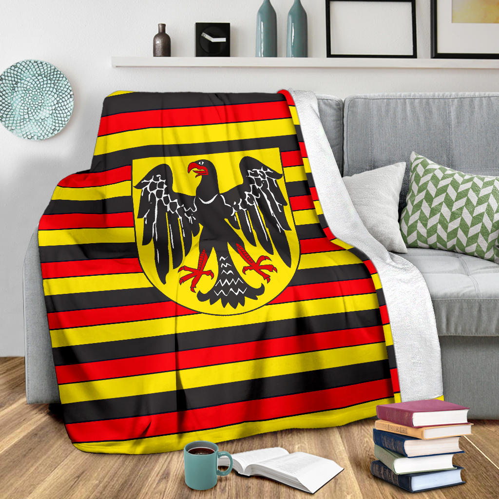 """German Heritage"" Fleece Blanket"