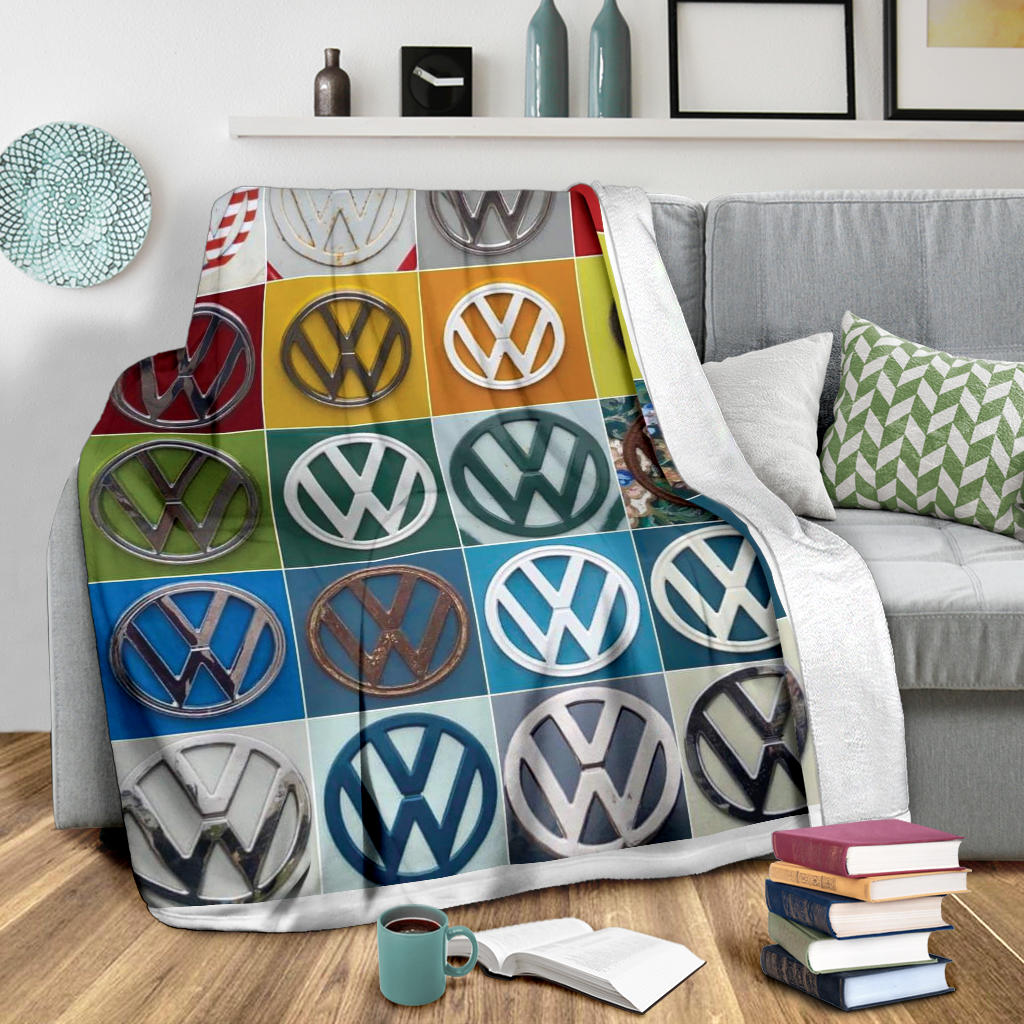 Vdub Emblem Collection Blanket