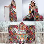 Hippie Bus  Hooded Blanket