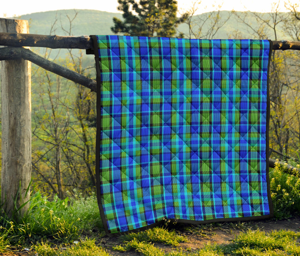 Westy Blue Plaid Quilt