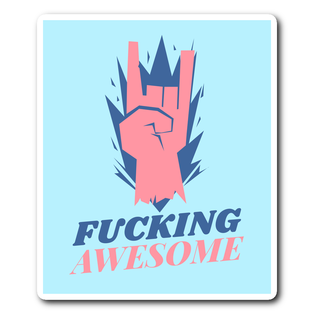 Fucking Awesome Sticker