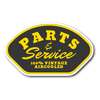 Parts & Service - 100% Vintage Aircooled Sticker