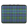 Blue Plaid Bluetooth Speaker