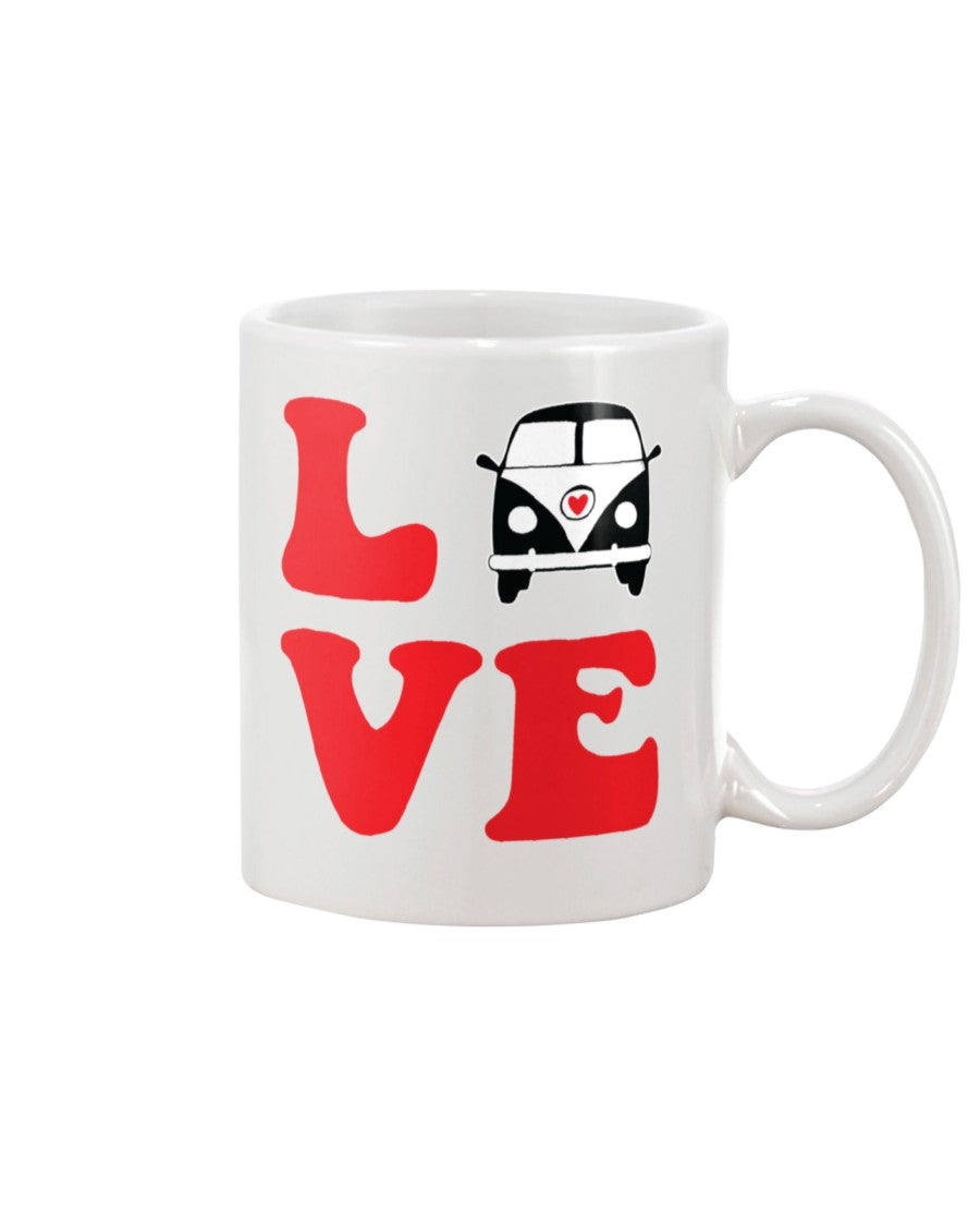 Split Bus Love 15oz Mug
