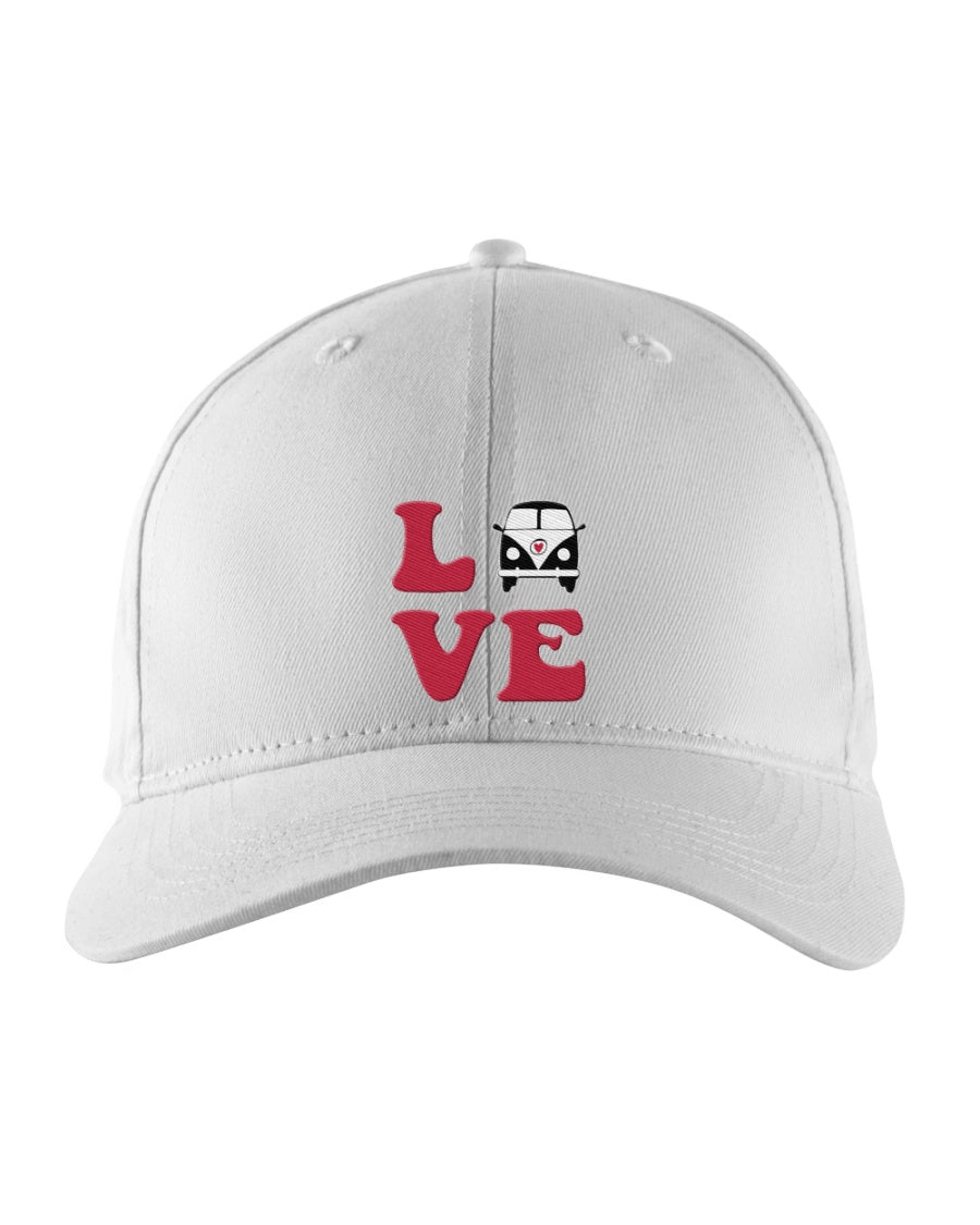Love Split Bus Snapback Trucker Cap
