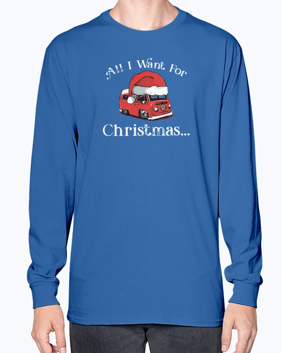 All I Want For Christmas Bay - Long Sleeve