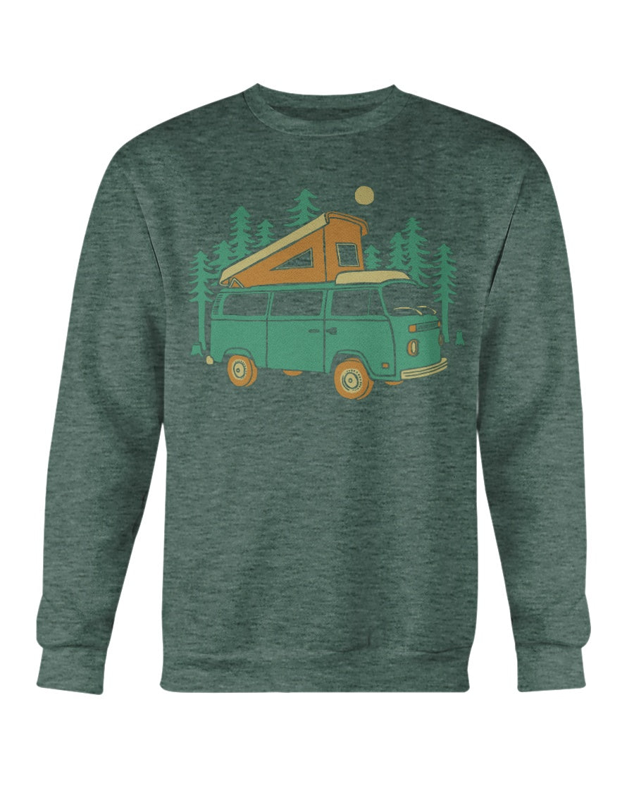 Forest Camper Crew Sweater