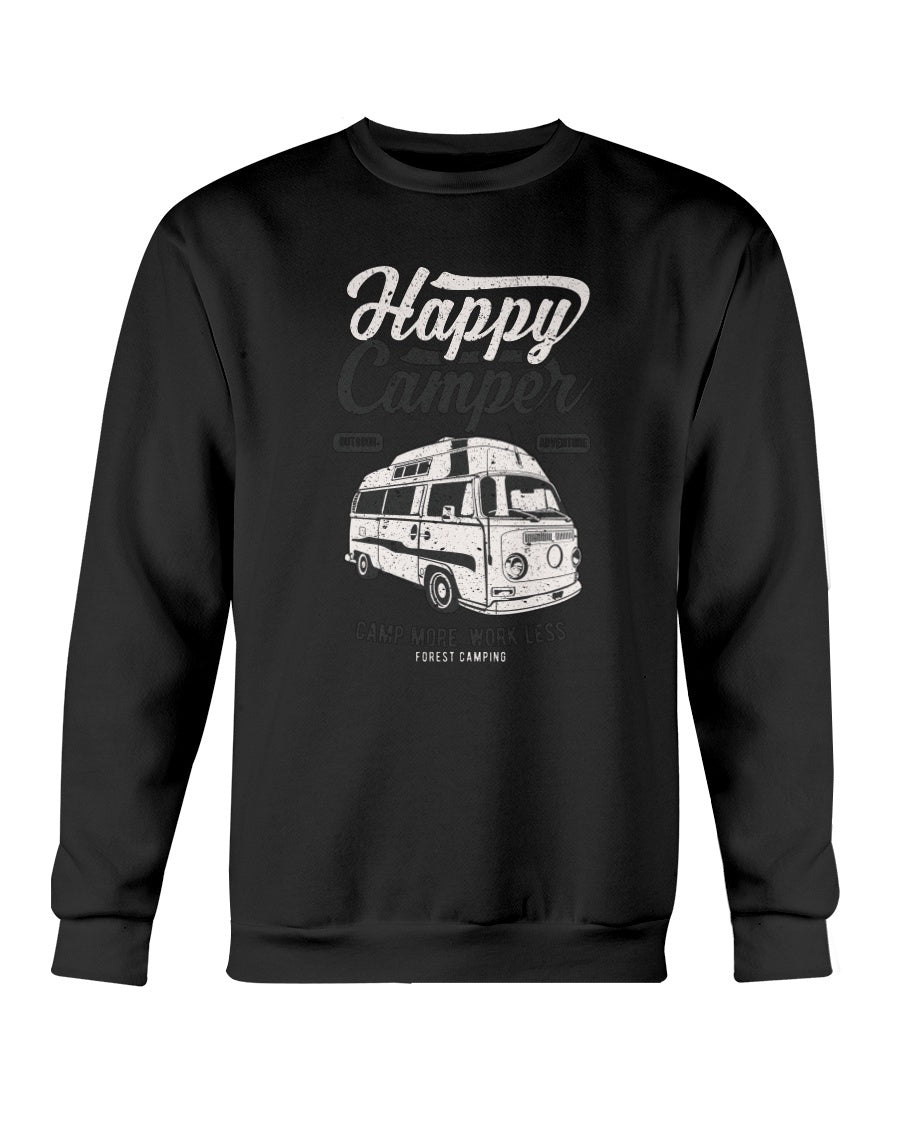 Happy Camper Crew Sweater