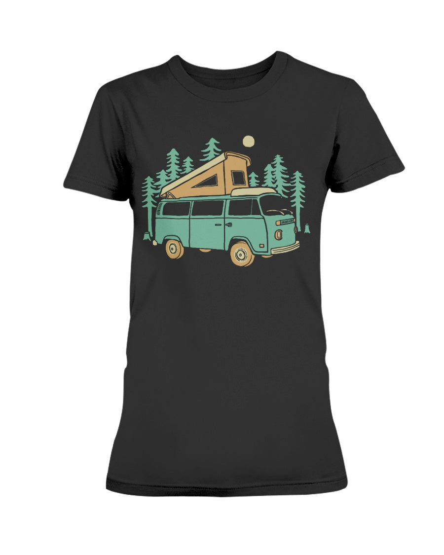 Forest Camper Gildan Ultra Ladies T-Shirt
