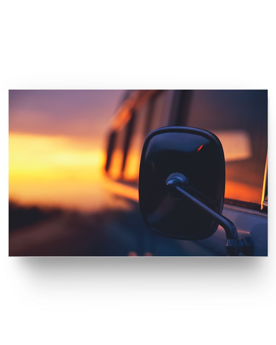 Kombi Sunset Poster