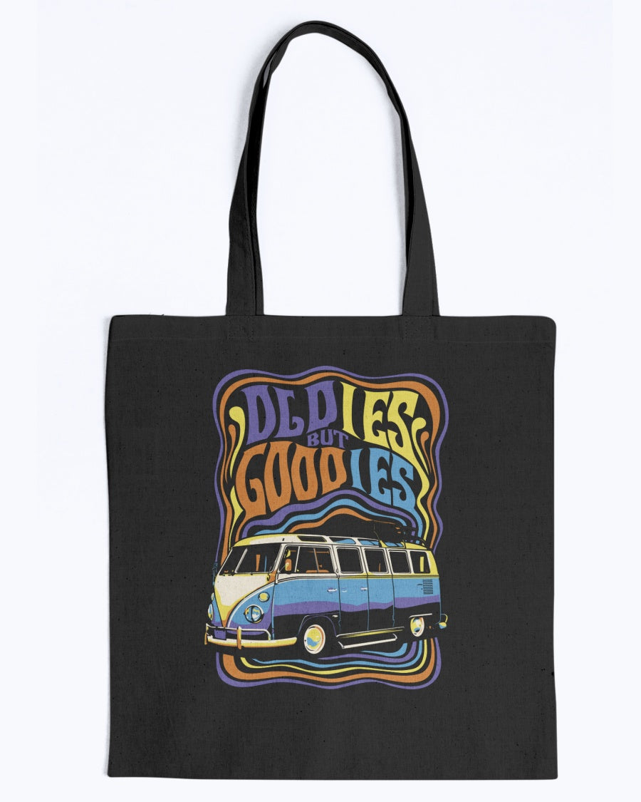 Oldie But Goodie Canvas Tote Bag