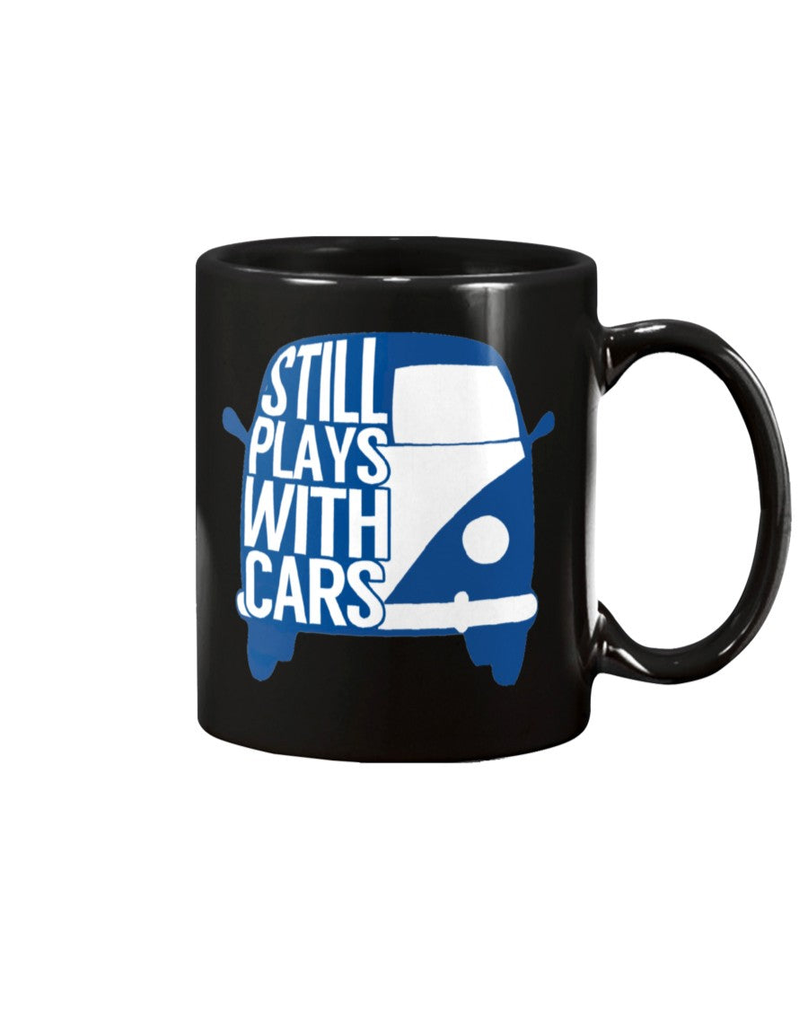 Still Plays With Cars Splitty 15oz Mug
