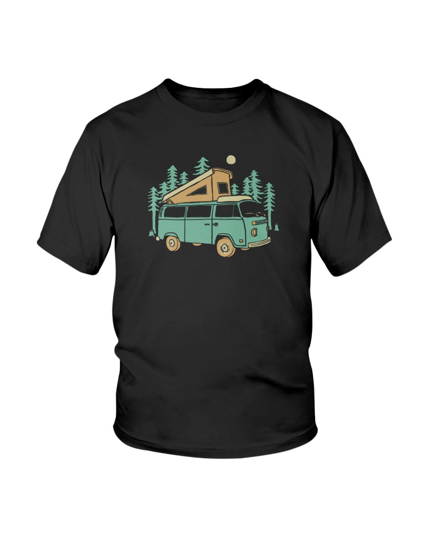 Forest Camper Kids Tee