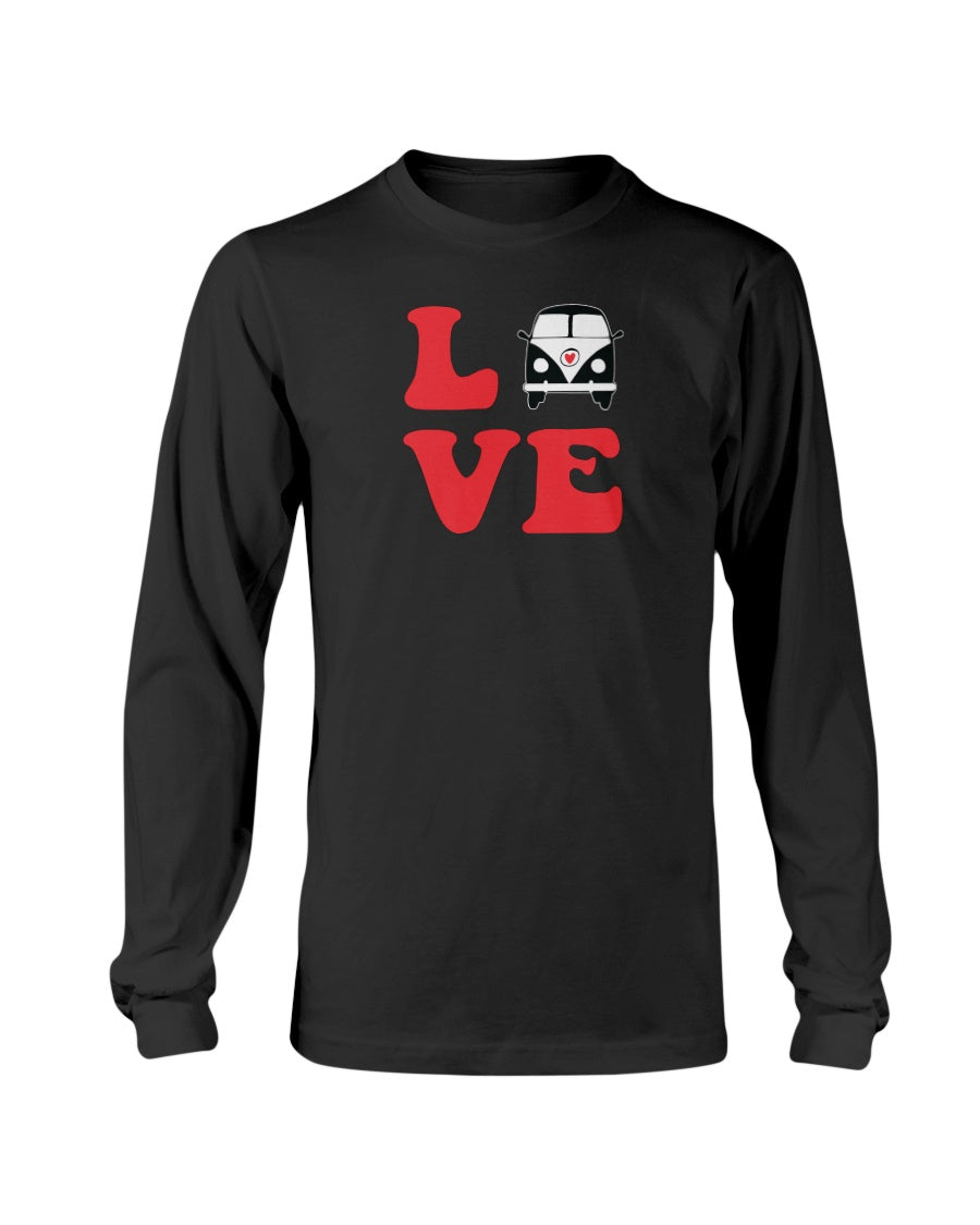 Split Bus Love Long Sleeve