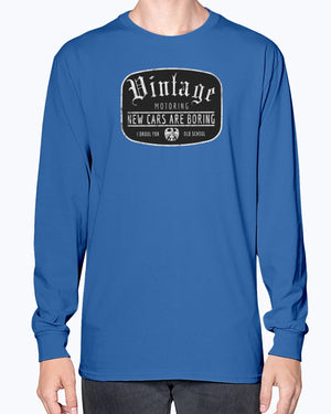 Vintage Motoring Long Sleeve