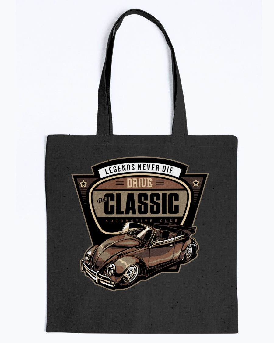Drive The Classic Canvas Tote Bag