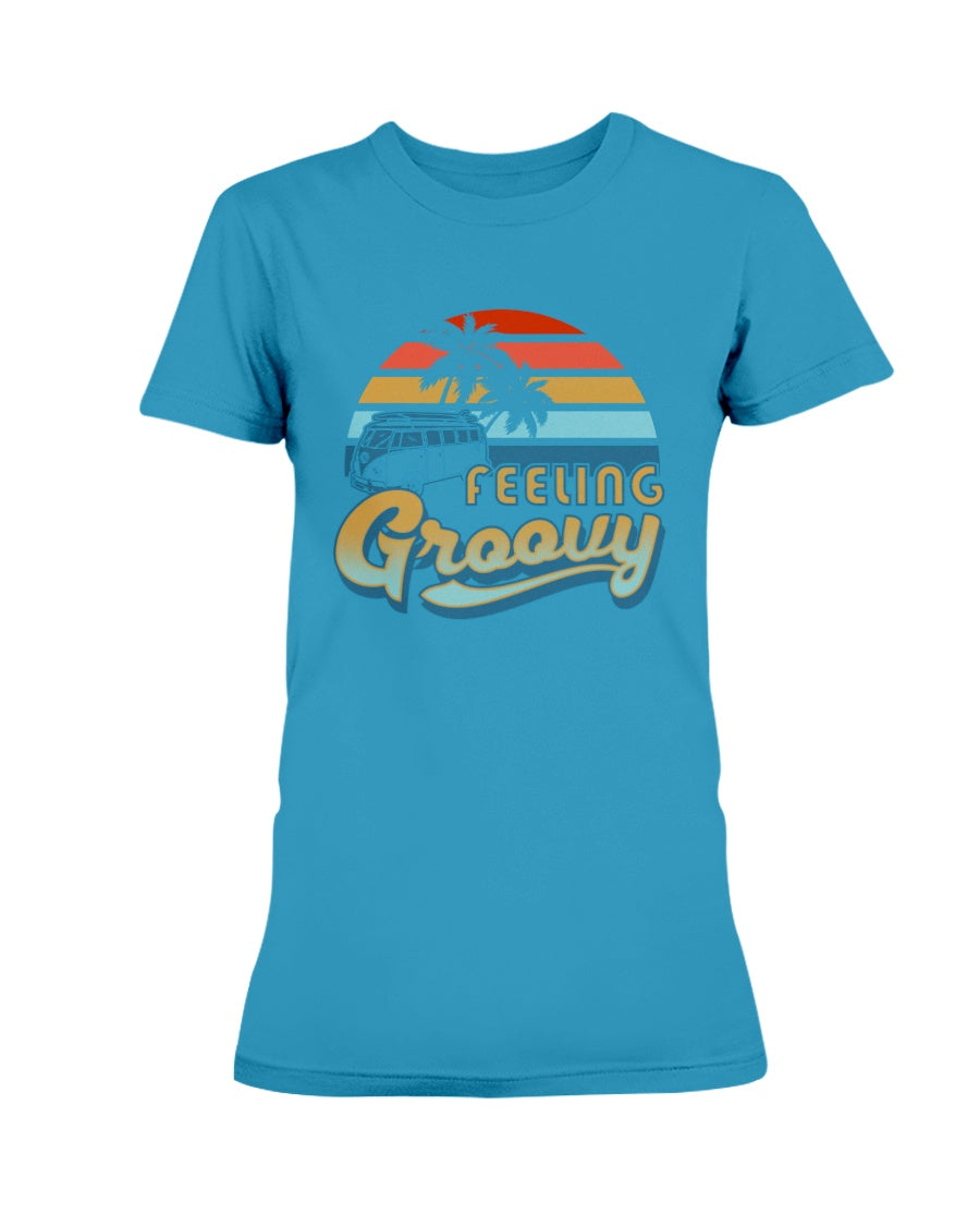 Feelin' Groovy Gildan Ultra Ladies T-Shirt