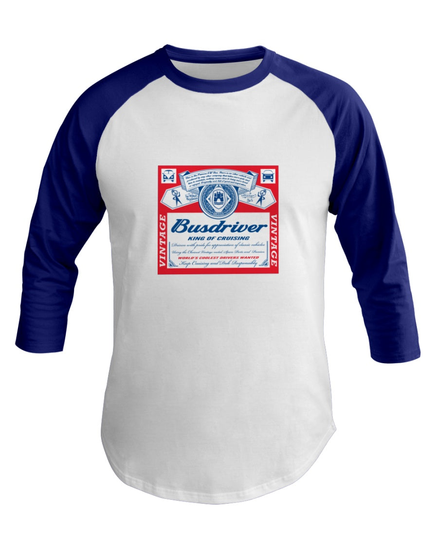 Busdriver King of Cruising Raglan Shirt