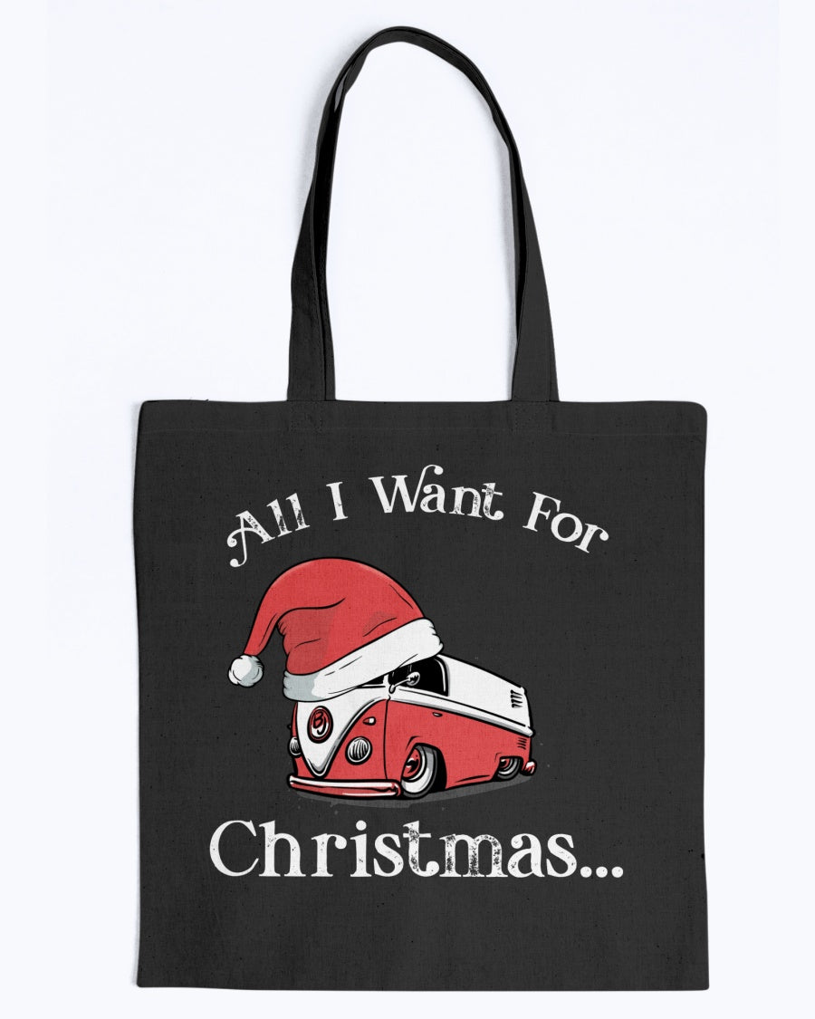 All I Want For Christmas - BAGedge Canvas Promo Tote