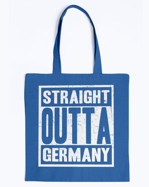 Straight Outta Germany - BAGedge Canvas Promo Tote