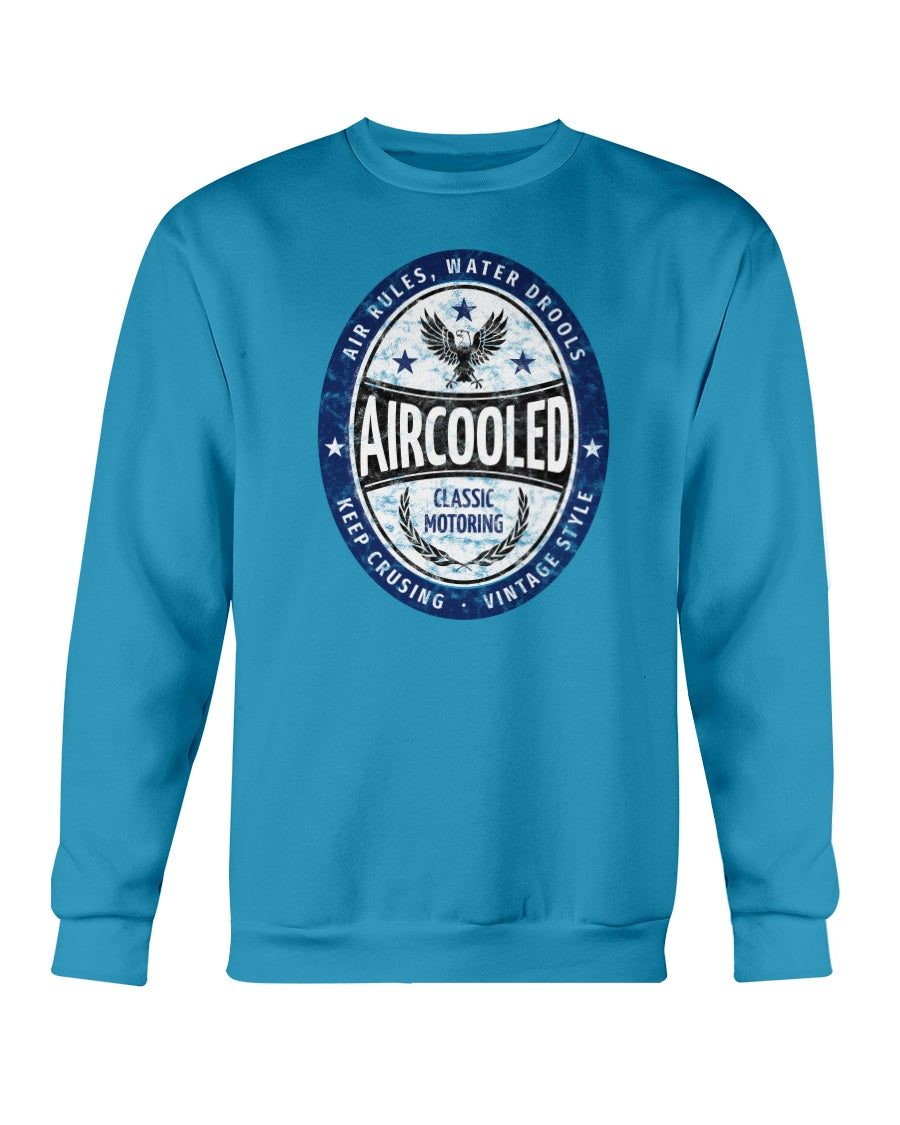 Aircooled Classic Motoring Crew Sweater