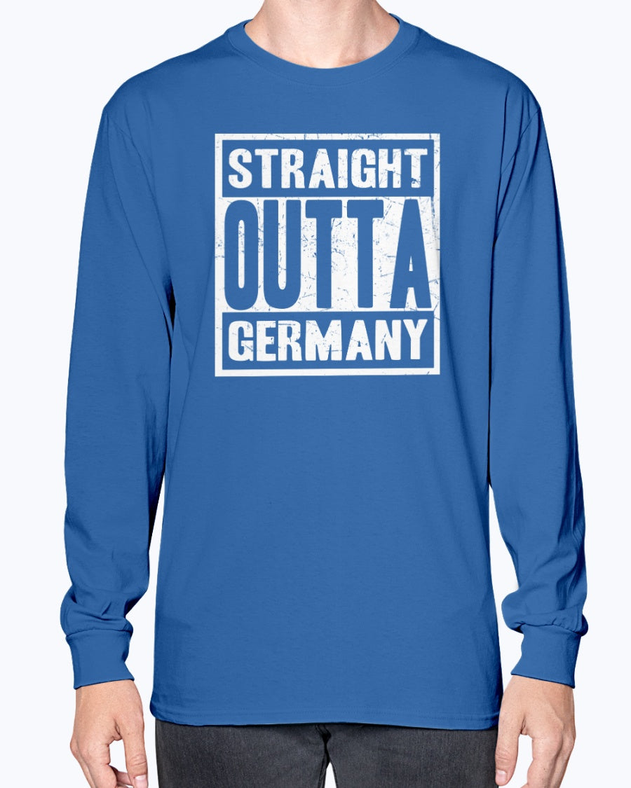 Straight Outta Germany - Long Sleeve