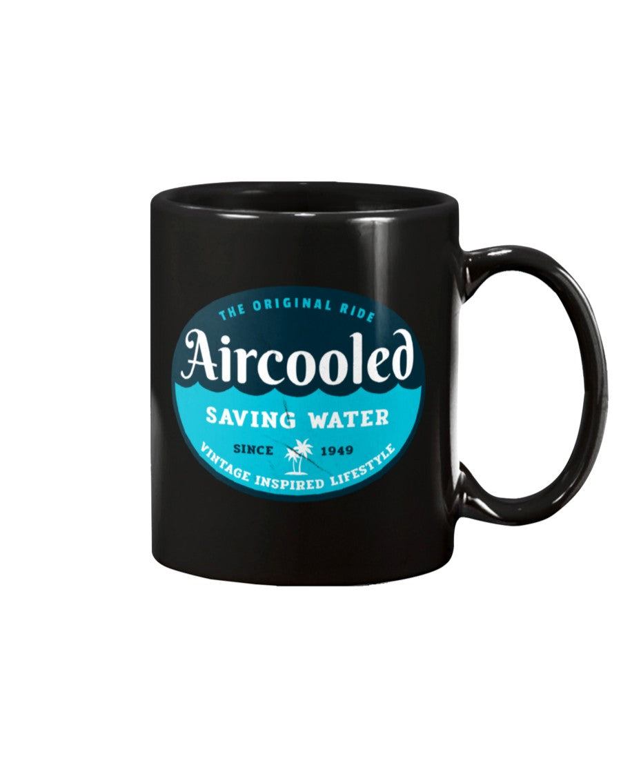 Aircooled Saving Water 15oz Mug