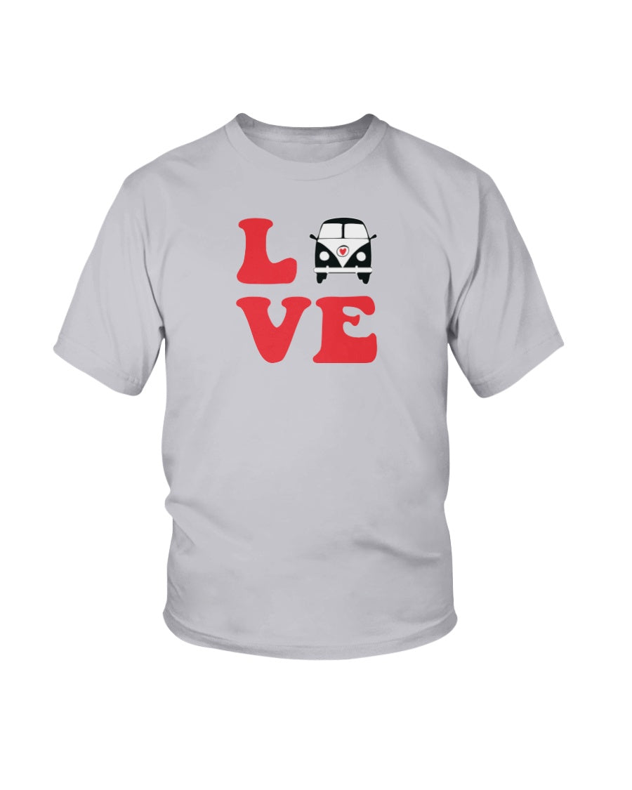 Split Bus Love Tee