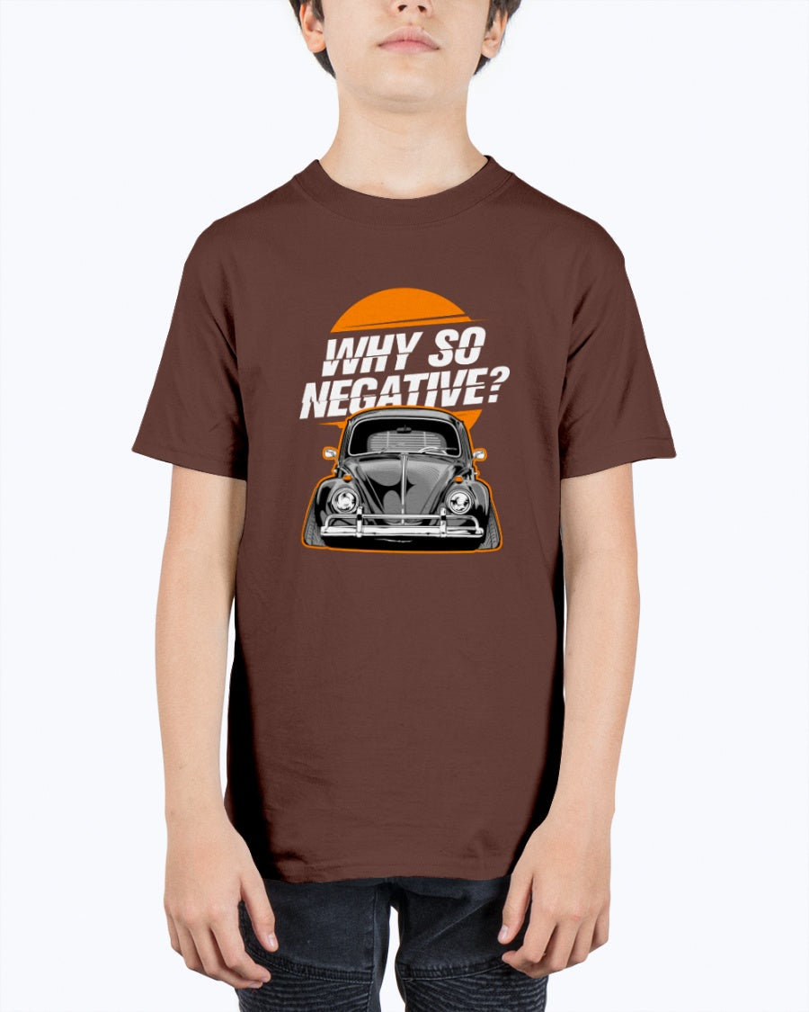 Why So Negative Kids Tee