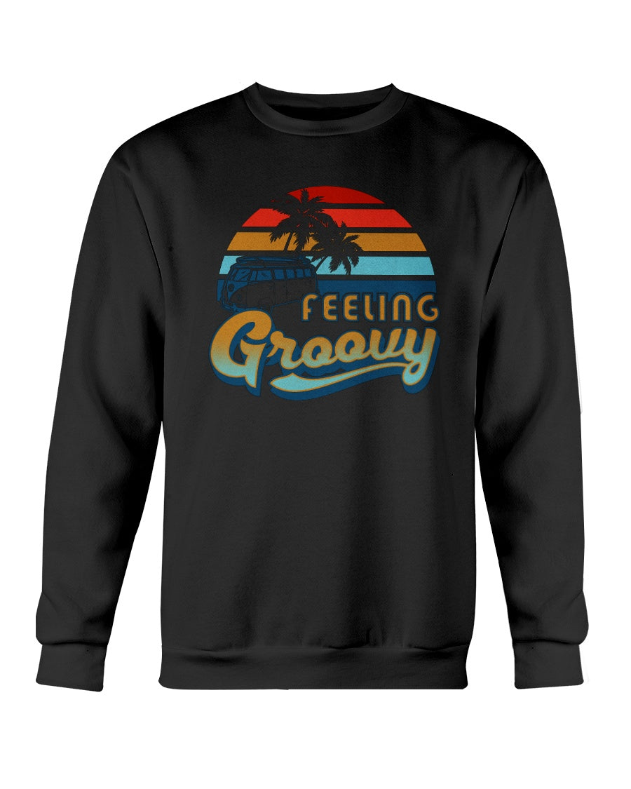 Feelin' Groovy Crew Sweater