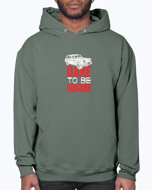 Dare To Be Square - Hoodie