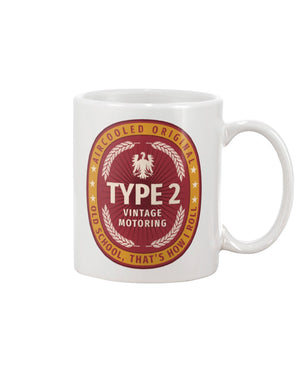 TYpe 2 Aircooled, Never Watered Down 11oz Mug