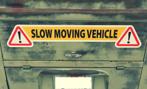 SLOW MOVING VEHICLE - ENGLISH ONLY