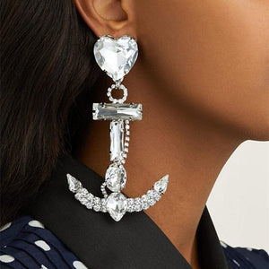Anchor To My Heart Earrings - Always Poppin Shop