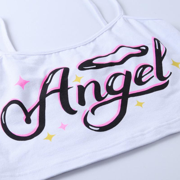 Angel Baby Crop Top - Always Poppin Shop